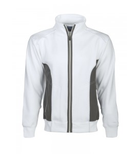 Sweat zip col montant...